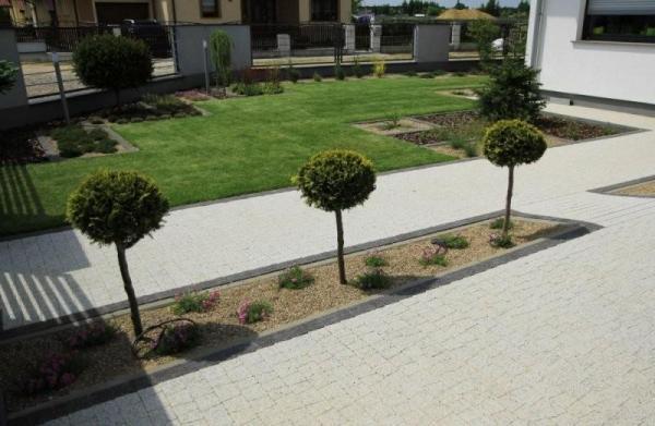 realizacje ogród Dąbrowice galeria
