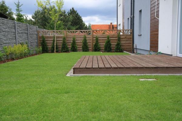 realizacje ogród w Poznaniu Junikowo galeria