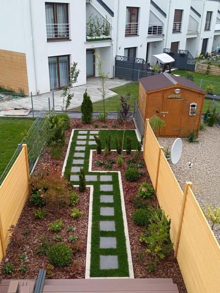 Realizacja ogród Lusówko os. Rozalin